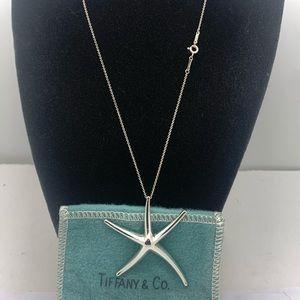 Tiffany&co 925 Peretti Lg Starfish Necklace